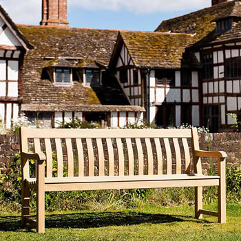Image of Roble St Georges 6ft FSC Garden Bench from Alexander Rose