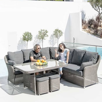 Image of Monte Carlo Casual Dining Furniture Set by Alexander Rose