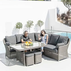 Small Image of Monte Carlo Casual Dining Furniture Set by Alexander Rose