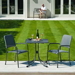 Portofino 2 Seater Square Bistro Set by Alexander Rose