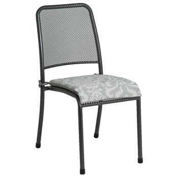 Image of Portofino Stacking Chair with Cushion