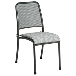 Small Image of Portofino Stacking Chair with Cushion