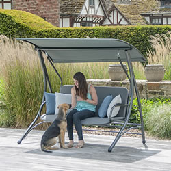 Small Image of Portofino Garden Swing Seat with Cushion from Alexander Rose