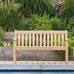 Small Image of Roble Broadfield 5ft FSC Garden Bench from Alexander Rose