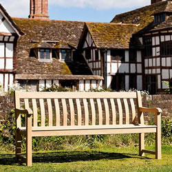 Small Image of Roble St Georges 6ft FSC Garden Bench from Alexander Rose