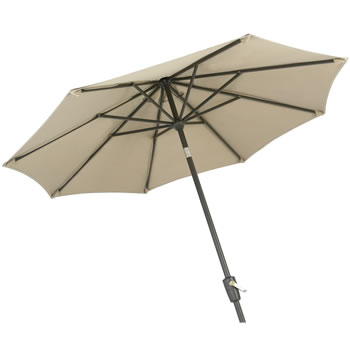 Image of Hartman Amalfi Replacement Garden Parasol 2.5m - Caramel/Black