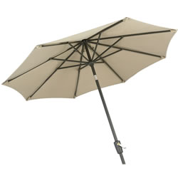 Small Image of Hartman Amalfi Replacement Garden Parasol 2.5m - Caramel/Black