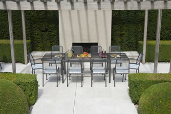 Image of Portofino 10 Seater Garden Furniture Set by Alexander Rose
