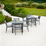 Portofino Lite 4 Seater Garden Furniture Set by Alexander Rose