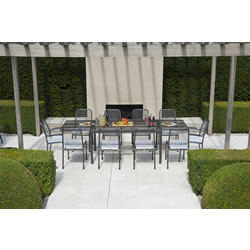 Small Image of Portofino 10 Seater Garden Furniture Set by Alexander Rose