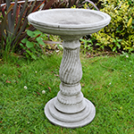 Small Image of Petite Stone Garden Bird Bath - BA14