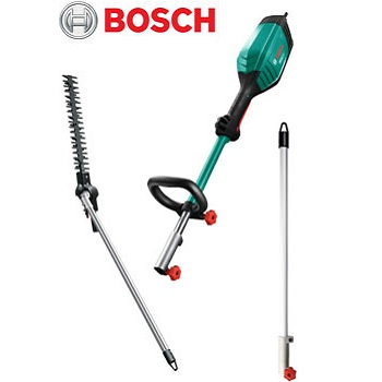 Small Image of Bosch AMW10 Multi Tool and Hedgecutter Attachment With Extension Pole -06008A3100