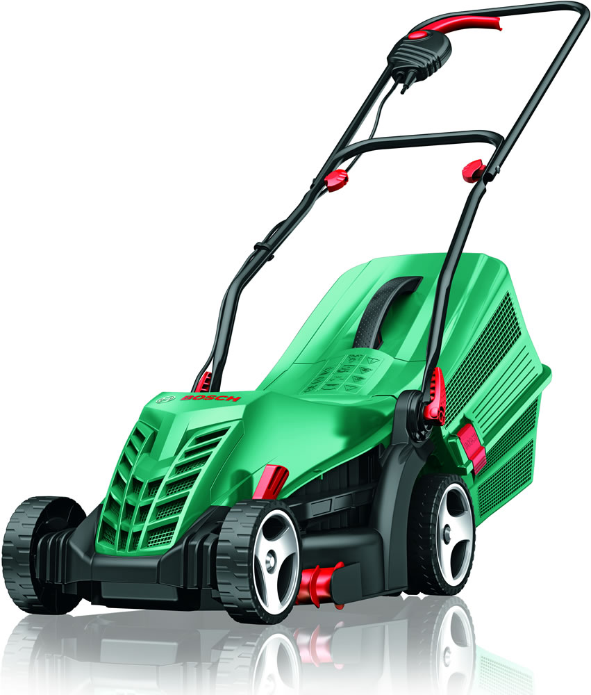 bosch lawn mower rotak 34r garden4less uk shop. Black Bedroom Furniture Sets. Home Design Ideas