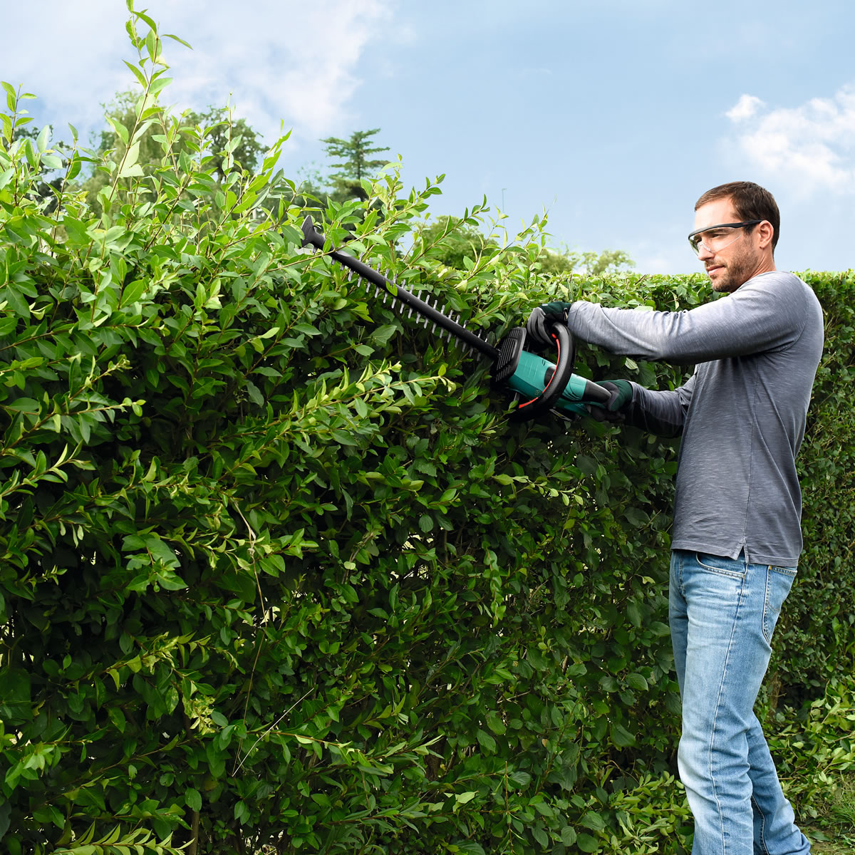 Extra image of Bosch AHS 50-20 Li Cordless Hedge Trimmer