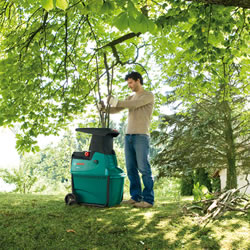 Extra image of Bosch Garden Shredder - 2500W Quiet Shredder, Free Wood Care Kit AXT 25D