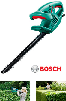 view the bosch electric hedge trimmer ahs 45 16. Black Bedroom Furniture Sets. Home Design Ideas
