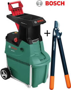 Reviews for bosch garden shredder with free loppers for Gardening 4 less reviews