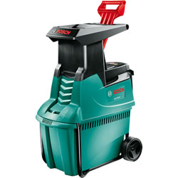 Small Image of Bosch Garden Shredder - 2500W Quiet Shredder, Free Wood Care Kit AXT 25D