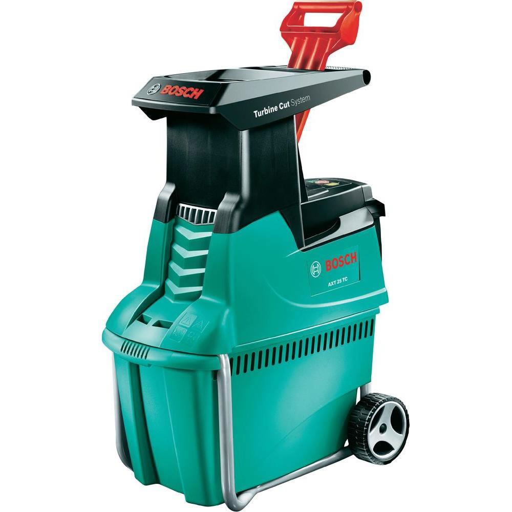 bosch garden shredder with free loppers 2500w quiet shredder axt 25tc 375 garden4less uk shop. Black Bedroom Furniture Sets. Home Design Ideas