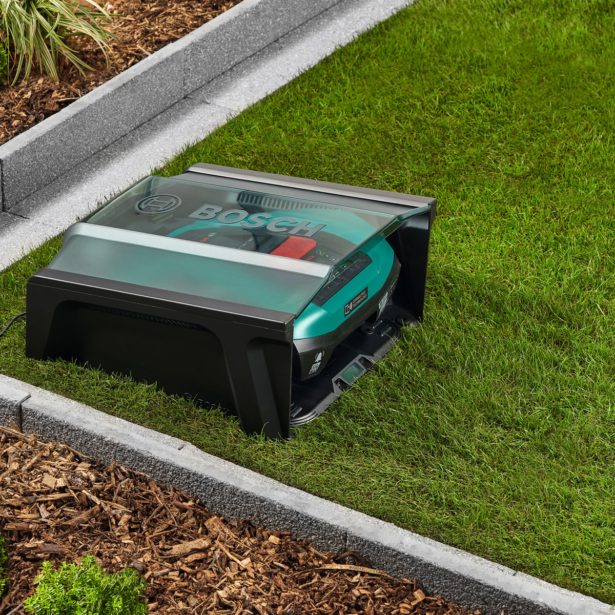 Extra image of Bosch Indego 400 Connect  Robotic Lawn Mower