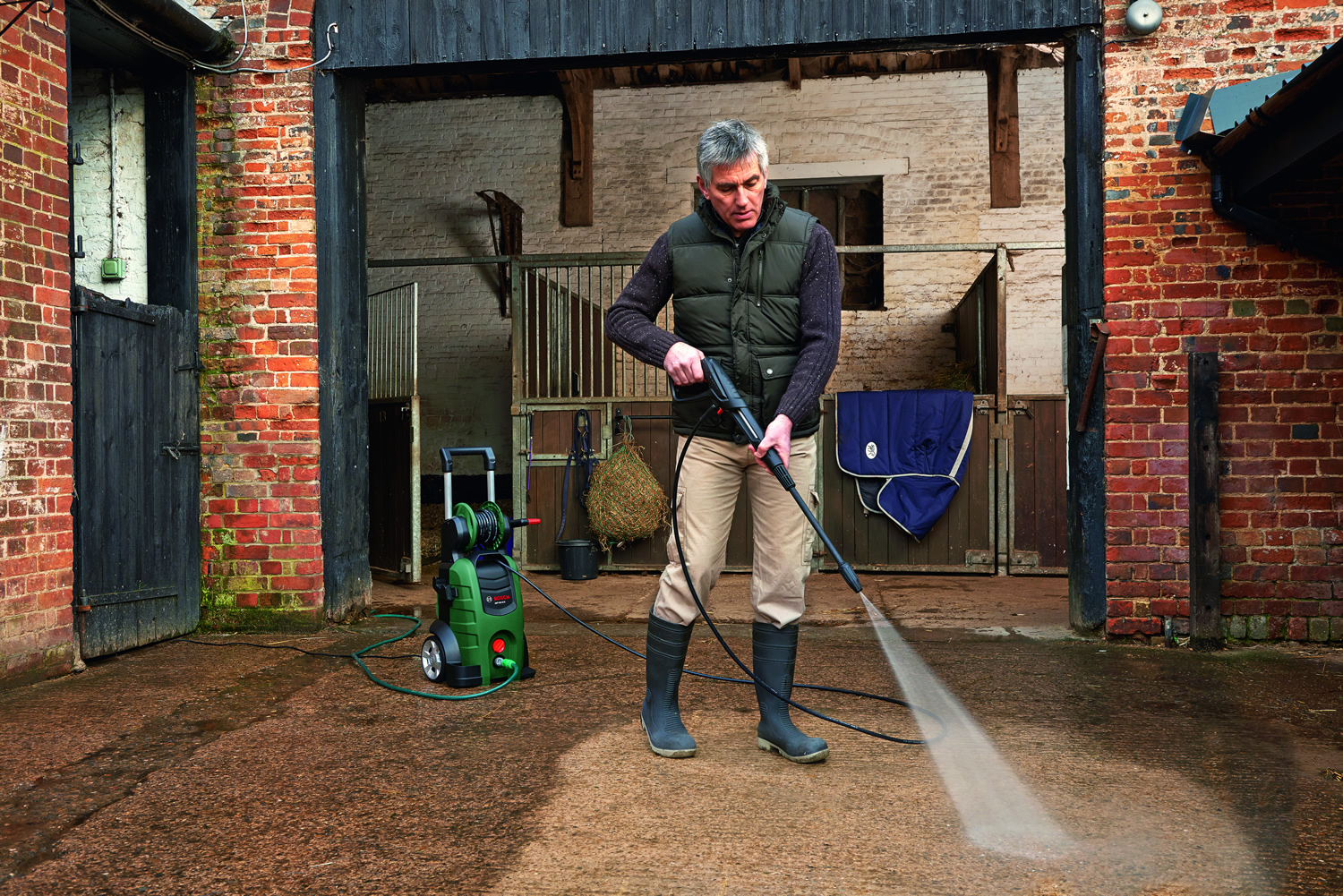 Bosch pressure washer aqt 45 14 x garden4less for Gardening 4 less reviews
