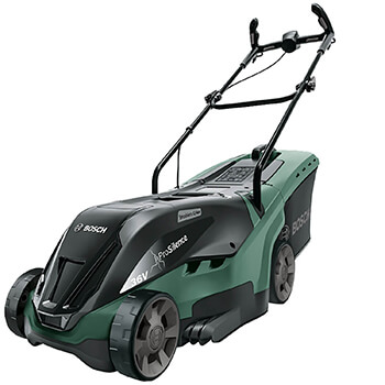 Image of Bosch Universal Rotak 36-550 Cordless Lawnmower - no battery pack/charger