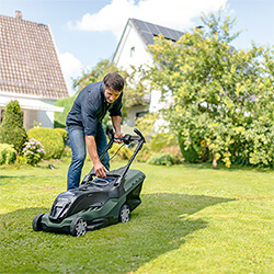 Small Image of Bosch AdvancedRotak 36-750 Cordless Lawn Mower (no battery pack/charger)