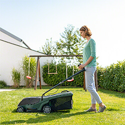 Small Image of Bosch Universal Rotak 36-550 Cordless Lawnmower