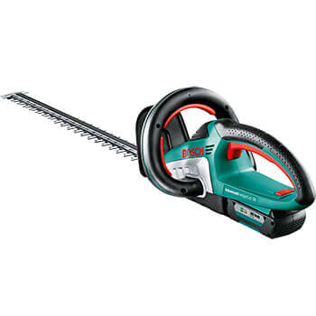 Image of Bosch Electric Advanced HedgeCut 36 with Free Wood Care Kit
