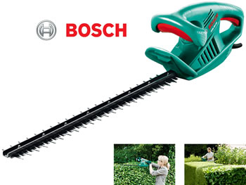 Image of Bosch Electric Hedge Trimmer - AHS 55-16 with free Collecto