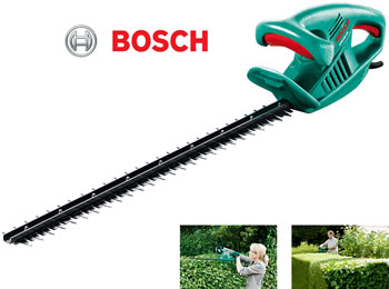 Image of Bosch Electric Hedge Trimmer - AHS 60-16 with Free Collecto