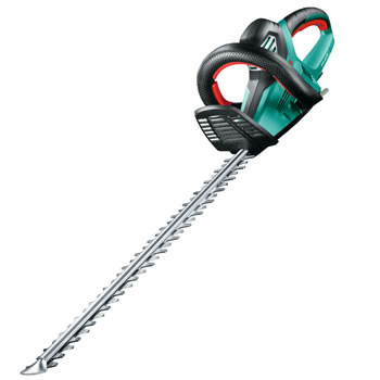 Image of Bosch Electric Hedge Trimmer - AHS 65-34 - With Free Spectacles, Clippings Sheet and Lubricant