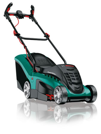 Image of Bosch Electric Lawn Mower - Rotak 37 Ergoflex