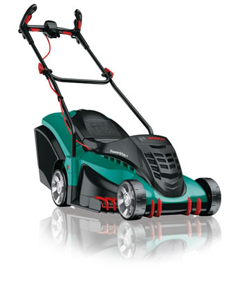 Image of Bosch Electric Lawn Mower - Rotak 40 Ergoflex with free extra blade