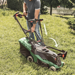 Extra image of Bosch Advanced Rotak 750 Electric Lawn Mower