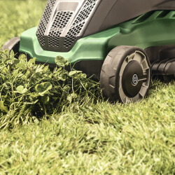 Extra image of Bosch Advanced Rotak 650 Electric Lawn Mower