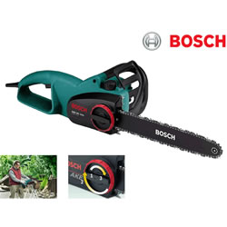 Small Image of Bosch Chainsaw - AKE 40-19S - With Free Replacement Chain, Protective Gloves and Oil