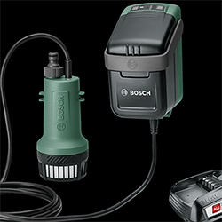 Extra image of Bosch Cordless Garden Rainwater Pump - GardenPump 18