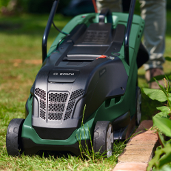 Extra image of Bosch UniversalRotak 550 Electric Lawn Mower