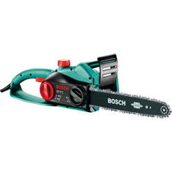 Small Image of Bosch Electric Chainsaw - AKE 35S - With Free Replacement Chain, Protective Gloves and Oil