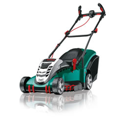 Small Image of Bosch Cordless Lawn Mower - Rotak 43li Ergoflex - 2 Batteries and free extra blade