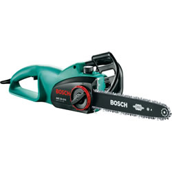 Small Image of Bosch Chainsaw - AKE 35-19S - With Free Replacement Chain, Protective Gloves and Oil