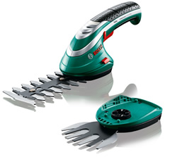 Image of Bosch Isio III Shape and Edge Cordless Shears