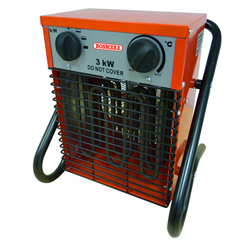 Image of Bosmere Professional Greenhouse Fan Heater - 1.5-3kw