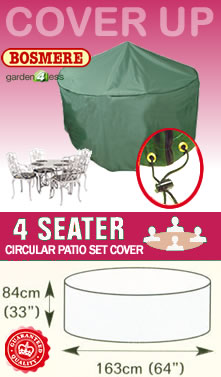 Image of Circular Furniture Cover (4 Seater Set) - Bosmere C515