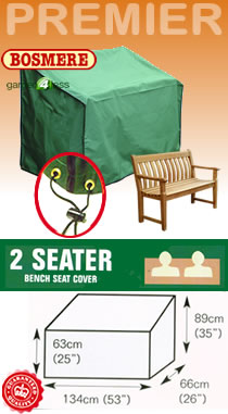 Image of Premier Bench Cover (2 seater) - P045