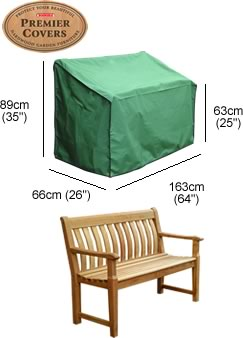 Image of Premier Bench Cover (3 seater) - P050