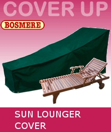 Image of Bosmere Premier Large Sunbed Cover - P039