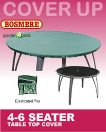 Image of Circular Table Top Cover (4-6 Seater) - Bosmere C547
