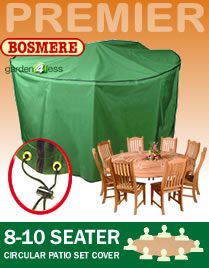 Image of Circular Furniture Cover (8 or 10 Seater Set) - Bosmere P027